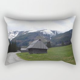 Tatra Mountain Trail Rectangular Pillow