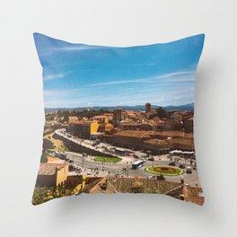 Segovia 2 Throw Pillow