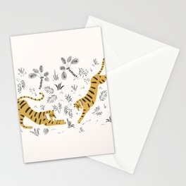 Tiger Dive Stationery Cards