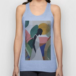 Tropical Girl Unisex Tank Top