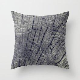 Vintage Wood Texture Throw Pillow