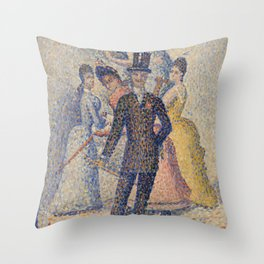 The Ladies' Man Throw Pillow