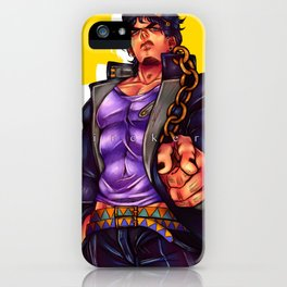 Jotaro Kujo iPhone Case