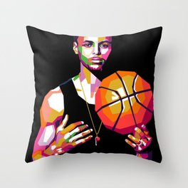 Curry Throw Pillow