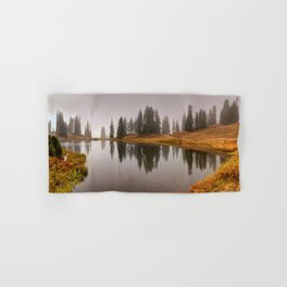 Colorado Fall Colors Panorama at Crested Butte Mountain Resort. Hand & Bath Towel