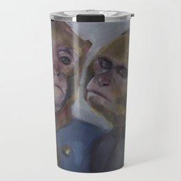 Monkey brothers Travel Mug