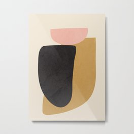 Abstract Shapes 34 Metal Print