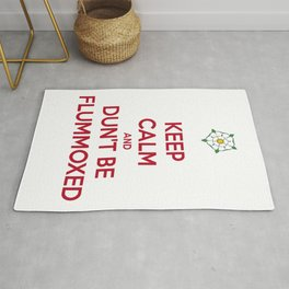 Keep Calm and Dun't Be Flummoxed Rug