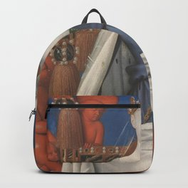 Madonna And Child By Jean Fouquet 1452 Backpack