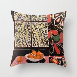 Matisse Exhibition poster 1979 Throw Pillow