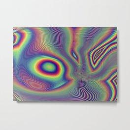 Spectrum Liquify Metal Print