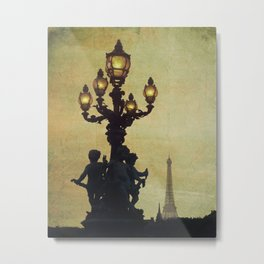 Paris (France) Metal Print