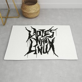 The Ladies Who Linux Rug