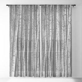 Birch || Sheer Curtain