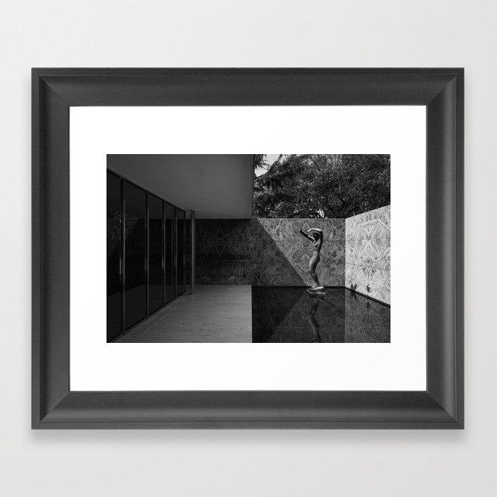 Barcelona Pavilion Gerahmter Kunstdruck