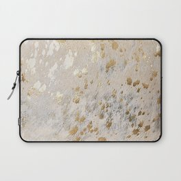 Gold Hide Print Metallic Laptop Sleeve