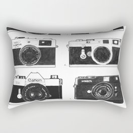 Collections - Appareil Photographiques Rectangular Pillow