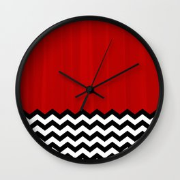 Twin Peaks - The Red Room Wall Clock