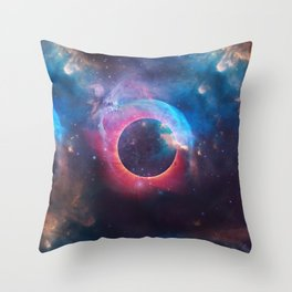The Nebula Throw Pillow