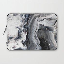 Marble B/W/G Laptop Sleeve