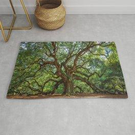 Angel Oak - Ancient Tree on Johns Island South Carolina Rug