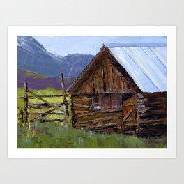 The Barn Art Print