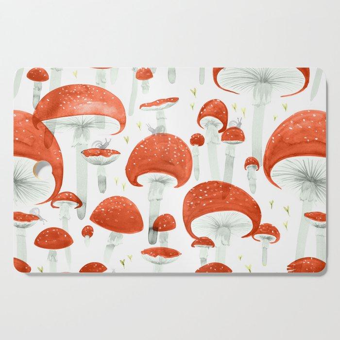 Mycelium Fruiting Bodies by Friztin © 2017 Cutting Board