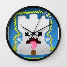 The Chibi Tarot - XVI The Tower Wall Clock
