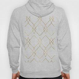 Gold Geometric Hoody