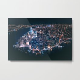 New York City 16 Metal Print