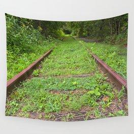 Forgotten Railway Wall Tapestry