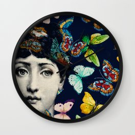 The Butterfly Queen Wall Clock