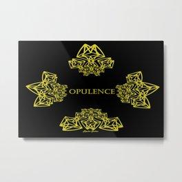 Opulence Art Deco - Rasha Stokes Metal Print