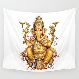 Ganesha - Hindu Wall Tapestry
