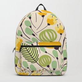Floral Pattern - Doodle Pattern - Pattern Backpack