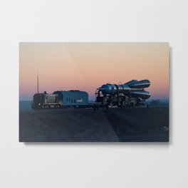 1795. Expedition 58 Rollout Metal Print
