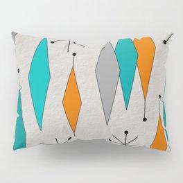 Mid-Century Modern Diamond Pattern Pillow Sham
