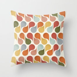 retro pattern no4 Throw Pillow