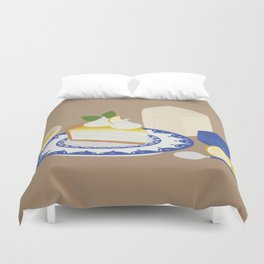 Afternoon cake  Duvet Cover