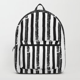 Unconditional Love Cat and Dog as Family Members Stripes Backpack