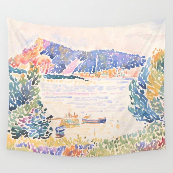 Cap Nègre by Henri-Edmond Cross 1909, French Wall Tapestry