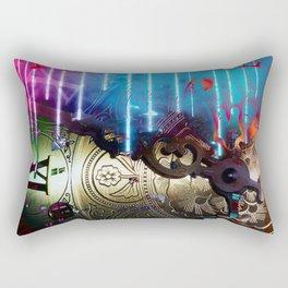 Past time Rectangular Pillow