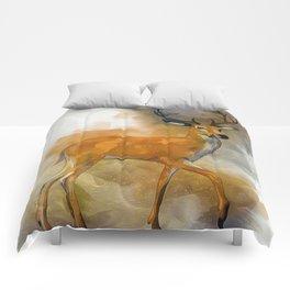 Deer Art Comforters