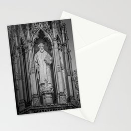 Archbishop Cranmer on the Marty's Memorial in Oxford England Stationery Cards