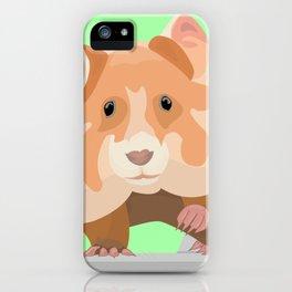 European Hamster iPhone Case