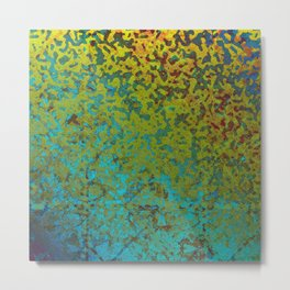 Colorful Corroded Background G292 Metal Print