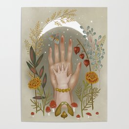 Salem - Moon Child Poster