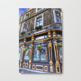 The Cockpit Pub London Metal Print