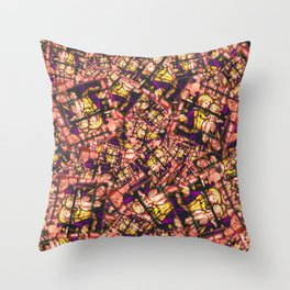 Jesus and Mary! it's a stampede of stamps! Throw Pillow