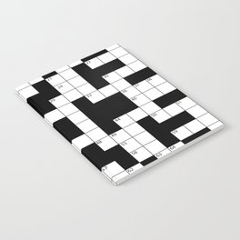 Cool Crossword Pattern Notebook
